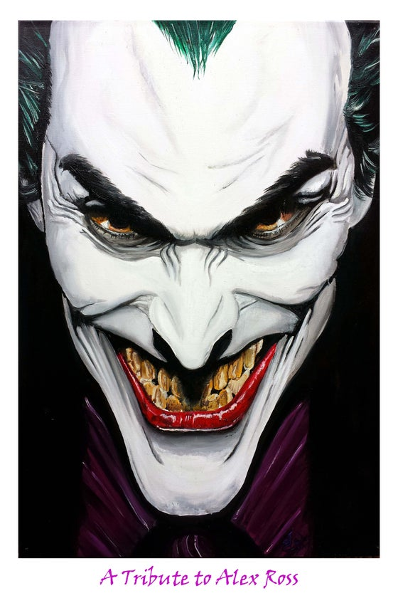 Image of The Joker:A Tribute to Alex Ross