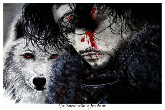 Image of You know Nothing Jon Snow