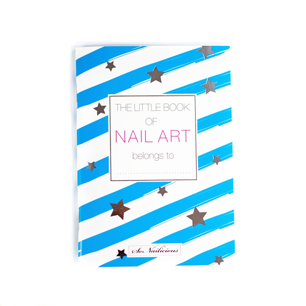 Image of The Little Book Of Nail Art - Square Nails - BACK IN STOCK!