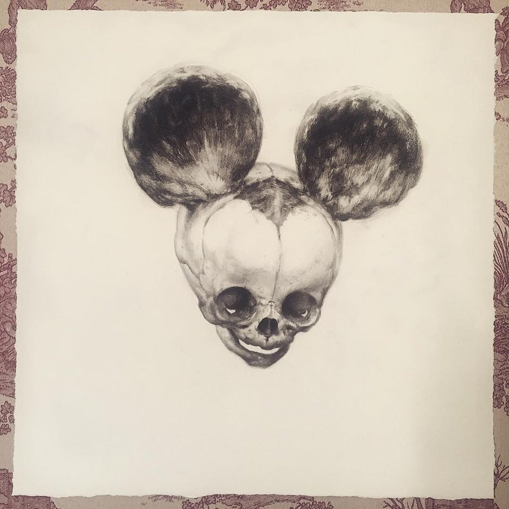 Image of 'FOETAL MOUSE' - Limited Edition Museum Archival Print