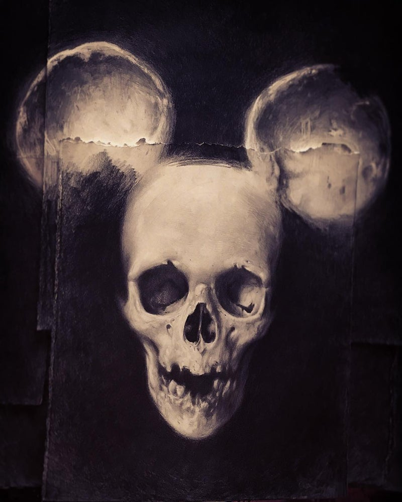Image of 'SKULL MOUSE' -  Limited Edition Museum Archival Print
