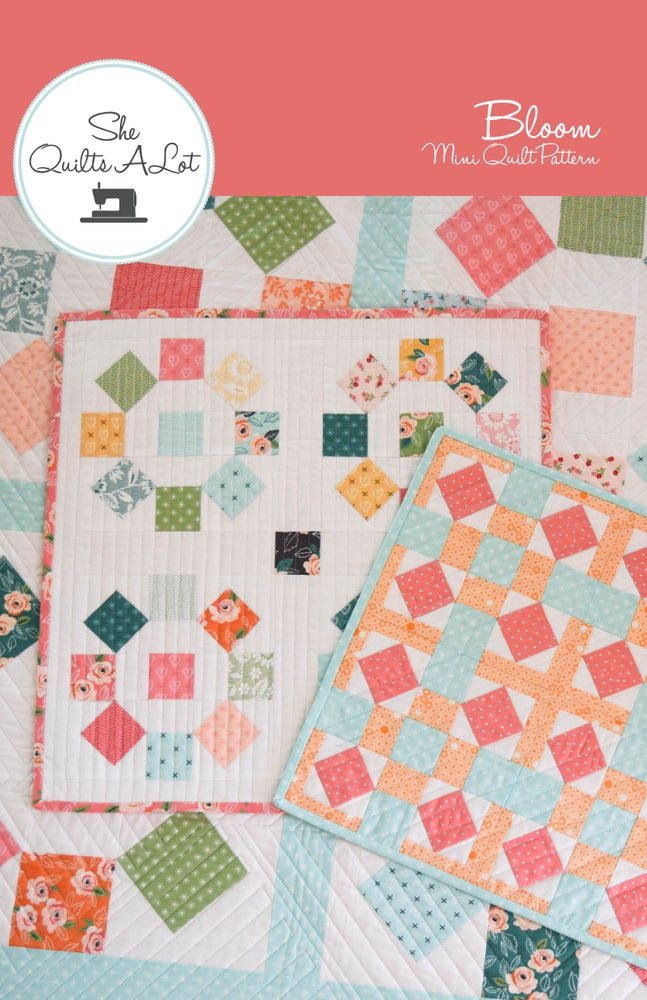 Image of Bloom Mini Quilt Paper Pattern