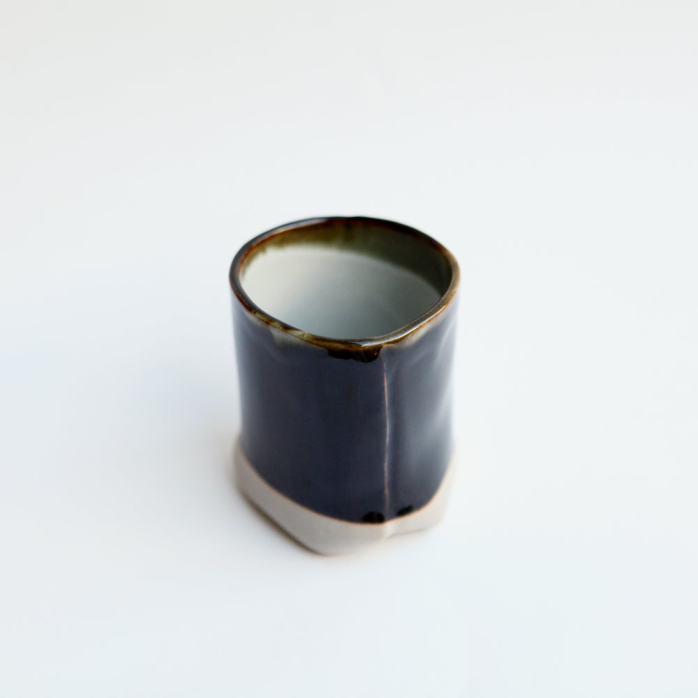Image of B & W Seamed Mug