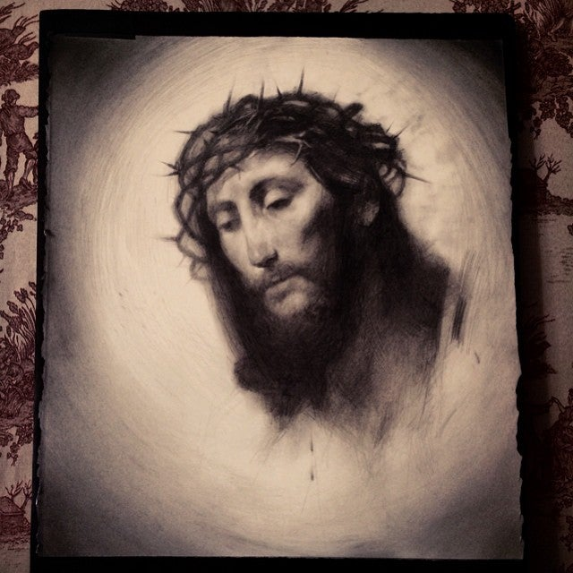 Image of 'BLOOD OF CHRIST' - Limited Edition Museum Archival Print