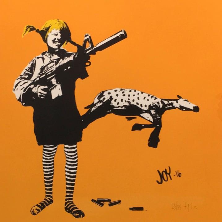 Image of Joy - Pippi orange