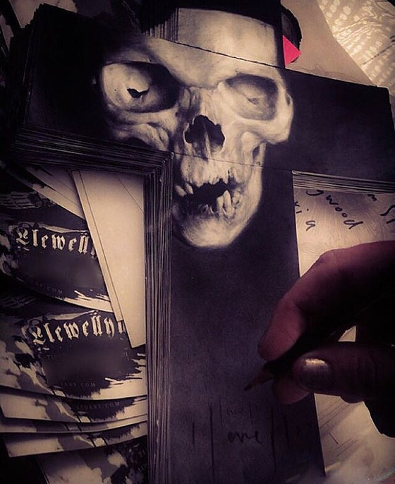 Image of 'THE GIFT OF SIN' - Miniature Open Edition Print