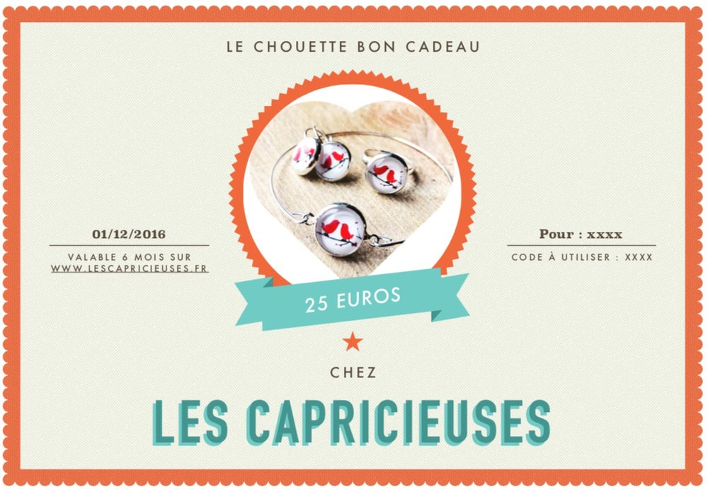 Image of Le chouette Bon cadeau !