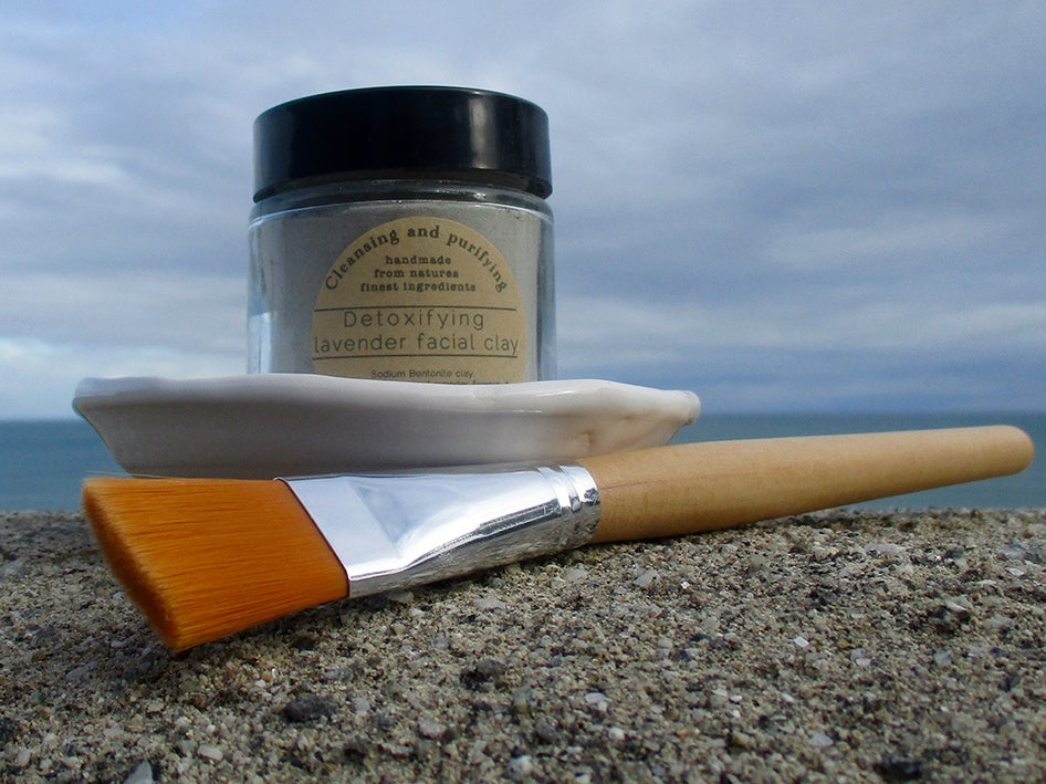 Image of Detoxifying Lavender Facial Clay Mask Gift Set