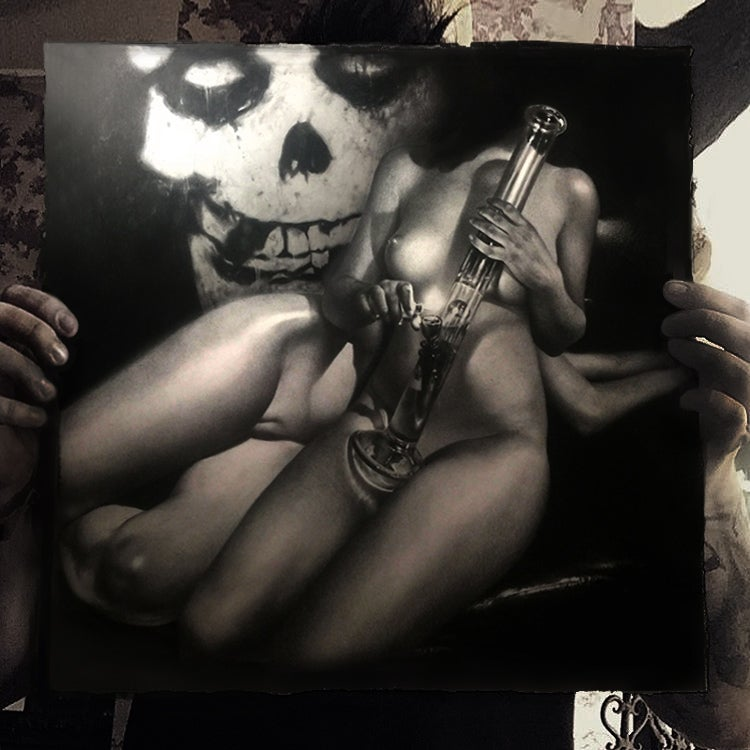 """Image of 'LAST CARESS' - 22 x 17"""" - Limited Edition Museum Archival Print"""