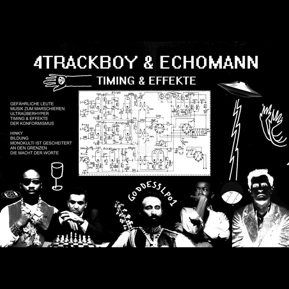 Image of 4Trackboy & Echomann - Timing & Effekte - LP (GROOVE ATTACK RECORDSTORE)