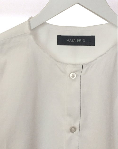 Image of Shirt 2 - Organic cotton poplin - White