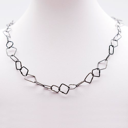 Image of Indian Summer Necklace  Sterling Silver / Oxidised Sterling Silver