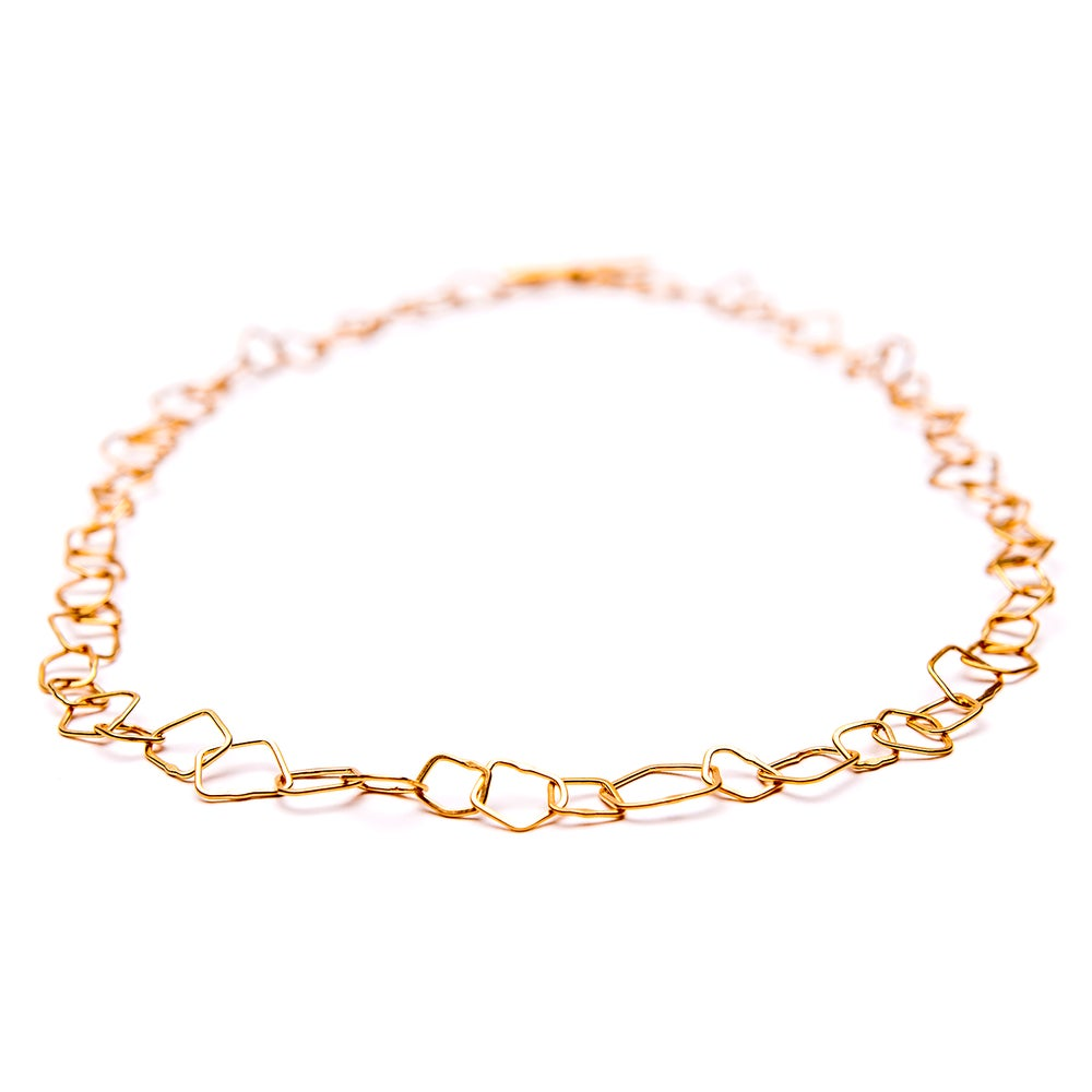 Image of Indian Summer Necklace  Yellow Gold Vermeil