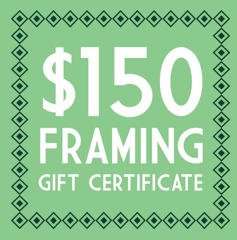 Image of $150 Trinity Framing Gift Certificate