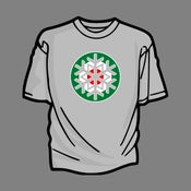 Image of Christmas Mod T-Shirt (Green Roundel)