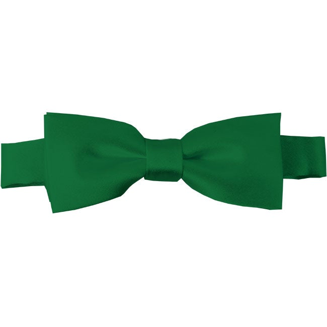 Image of Kids Solid Pre-TYED BowTie