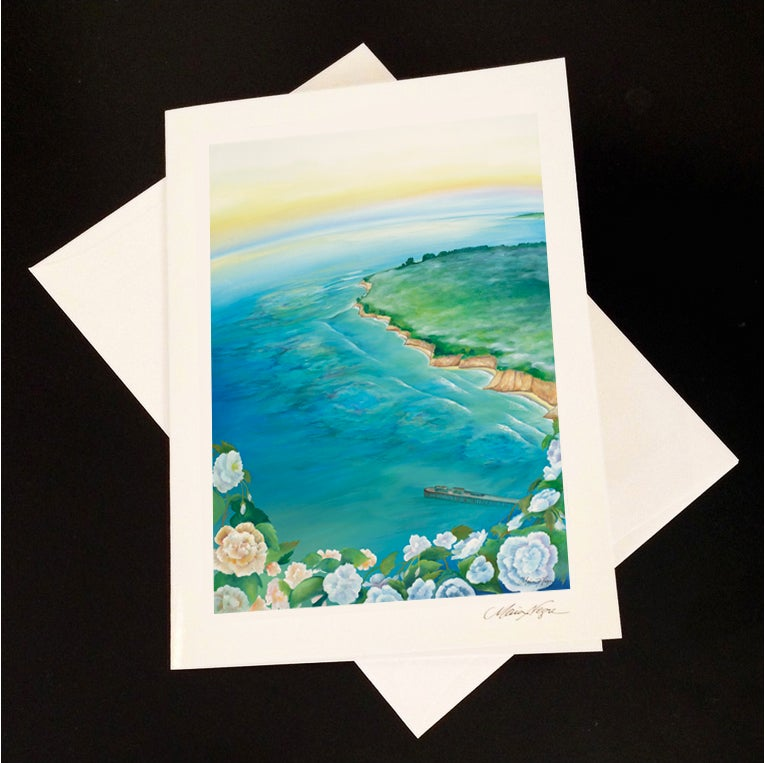 Image of Begonia Reefs 5-Pack Greeting Card Set