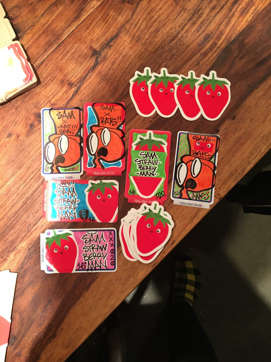 Image of The Sam Package (Stickers and print)