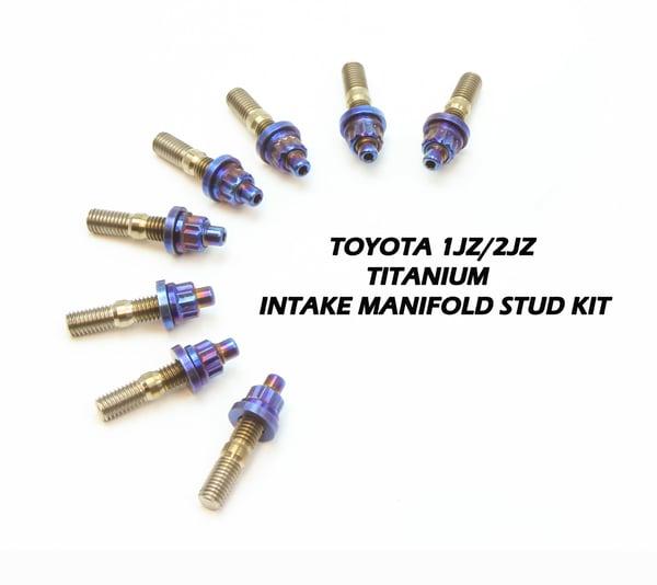 Image of JZ Titanium intake manifold stud kit