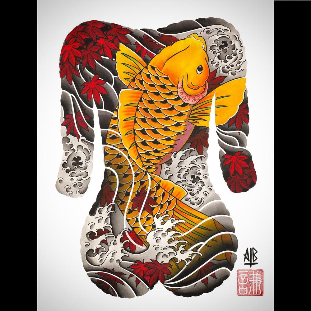 """Image of """"Koi"""" Print"""