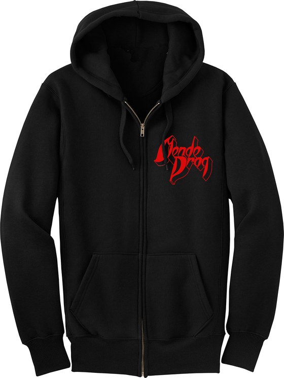 Image of Lady In Gold Hoodie - Zip Up