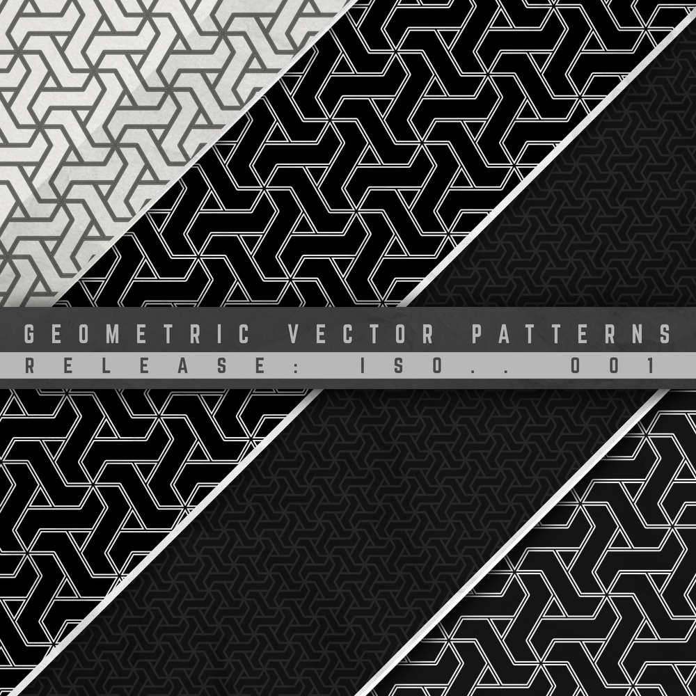 Image of GEOMETRIC VECTOR PATTERN 005