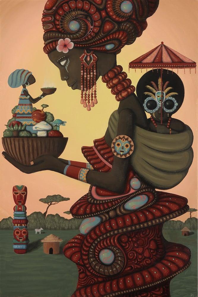 """Image of """"Sacred""""  Print"""