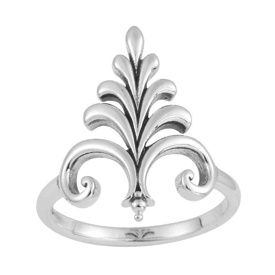 Image of Sterling Silver Fountain Ring