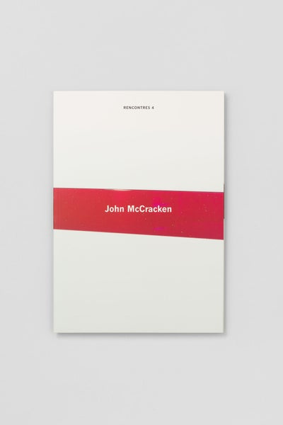 Image of John McCracken - Rencontres 4