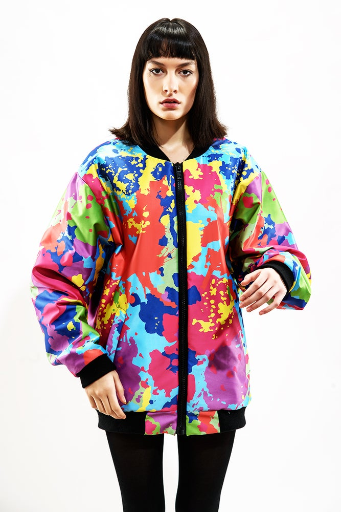 Image of Color Splash reversible Jacket