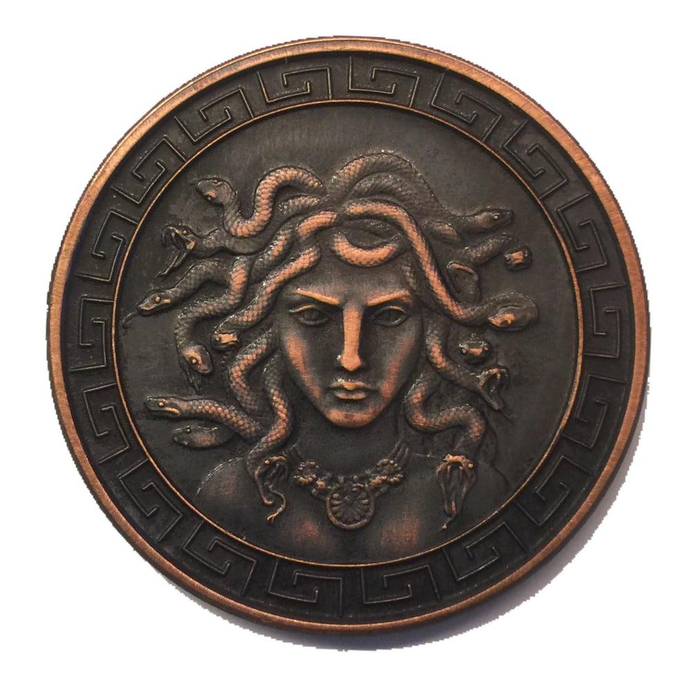 Image of Medusa 1oz Copper Challenge Coin