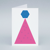 Image of Pink Tree card
