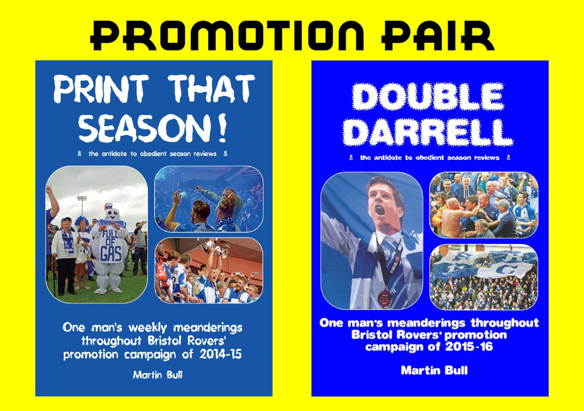 Image of The Promotion Pair - 'Print That Season!' & 'Double Darrell'