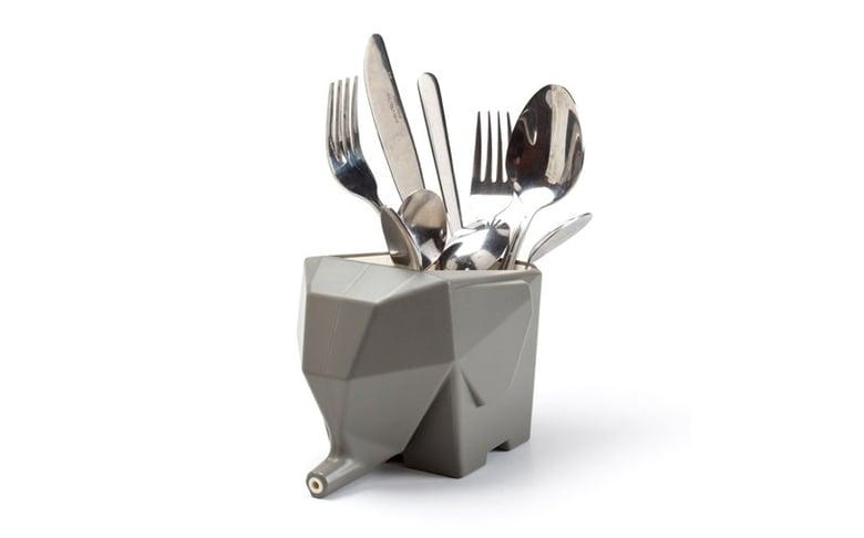 Image of Jumbo Cutlery Drainer - Peleg Design