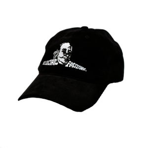 Image of Electric Factory Brushed Twill Black Cap