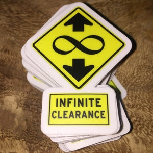 Image of Infinite Clearance Mini Sticker