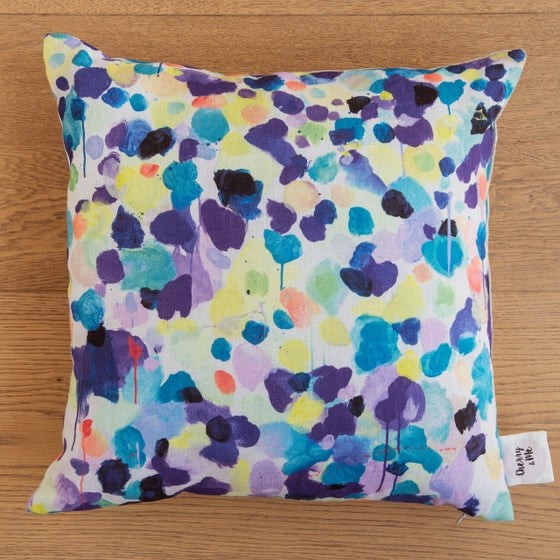 Image of Iris 100% Linen Cushion