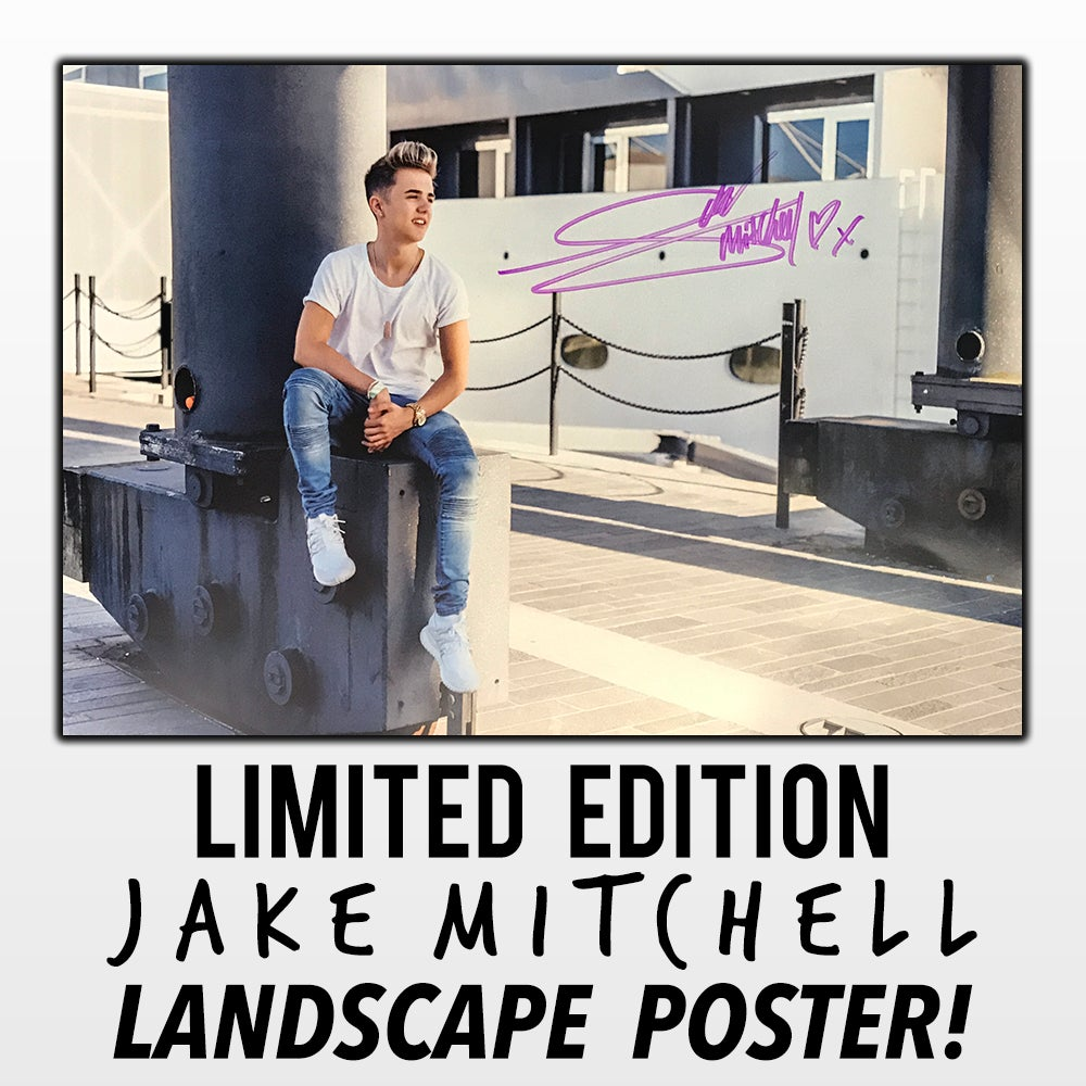 Image of Limited Edition Jake Mitchell Poster (Landscape)