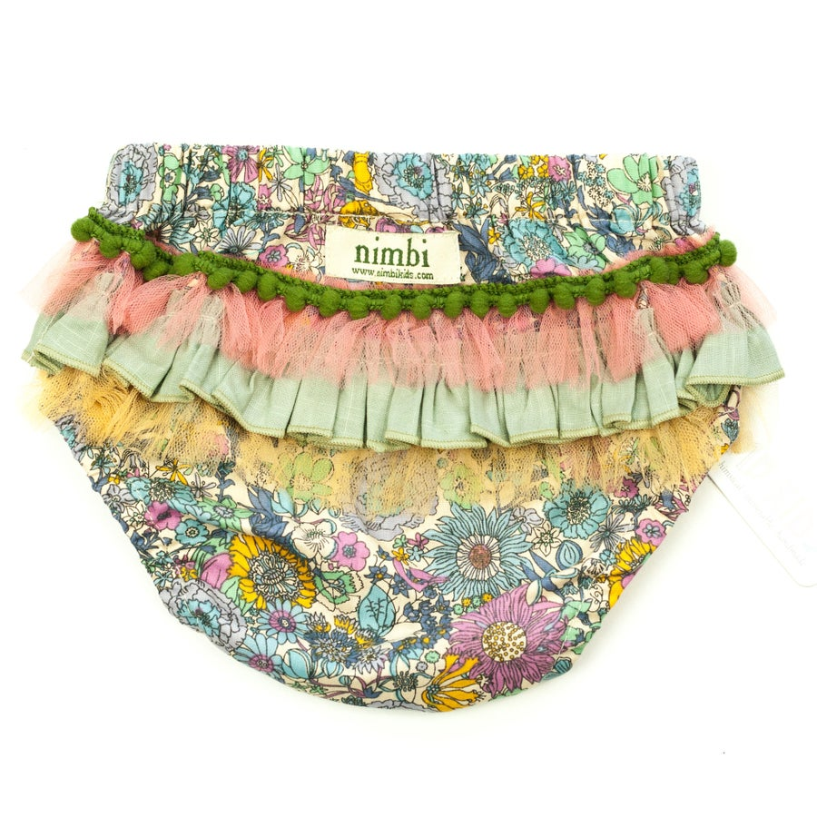 Image of Bambini Ruffled Pilchers - Petal