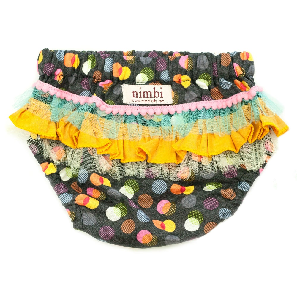 Image of Bambini Ruffled Pilchers - Polka