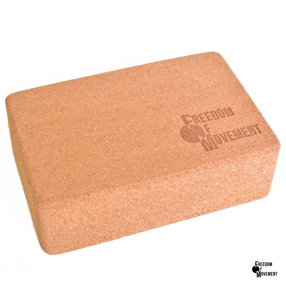 Image of Cork yoga block