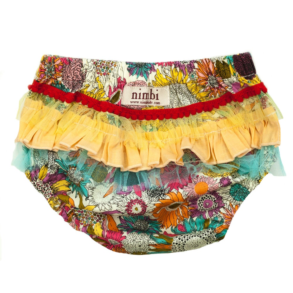 Image of Bambini Ruffled Pilchers - Sunflower Medley