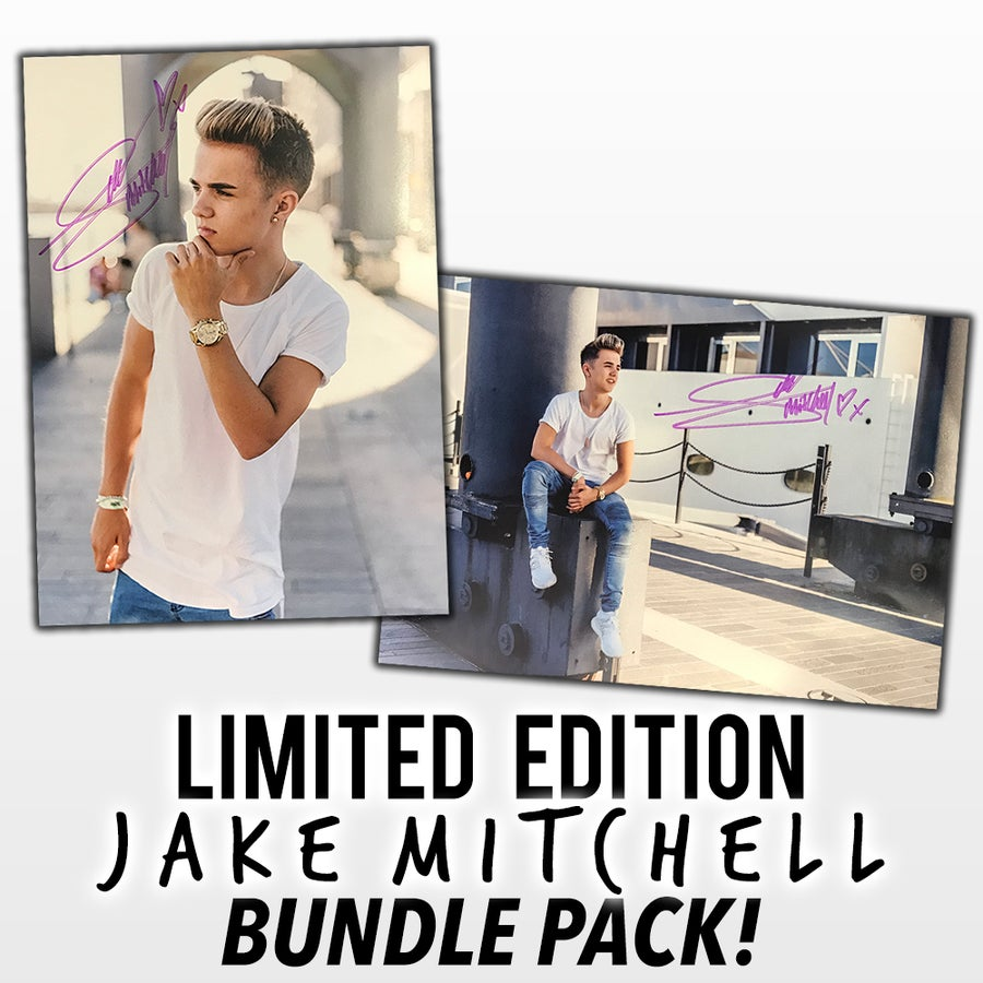 Image of Limited Edition Jake Mitchell Poster (Bundle Pack)
