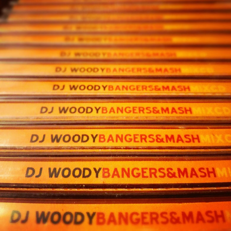 Image of Mix CD - Bangers & Mash by DJ Woody