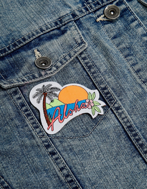 Image of Iron on Aloha Patch