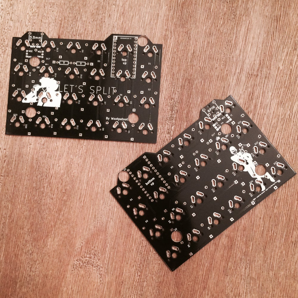 Image of Let's Split 40% PCBs