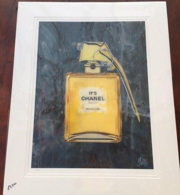 Image of Sage Barnes Chanel print