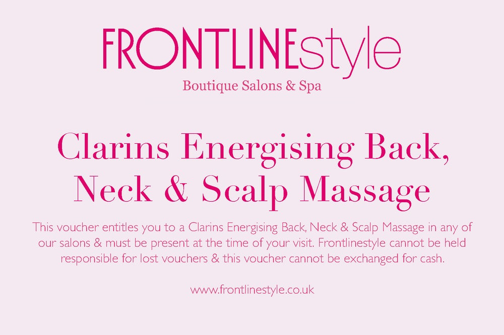 Image of Clarins Energising Back, Neck & Scalp Massage