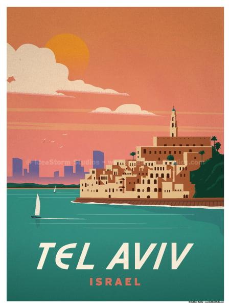 Image of Tel Aviv Poster