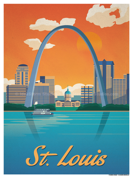 Image of St. Louis Poster